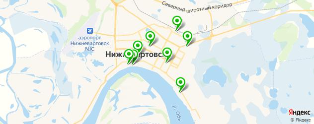 вегетарианские рестораны на карте Нижневартовска