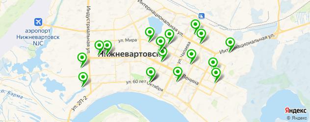 фотостудии на карте Нижневартовска