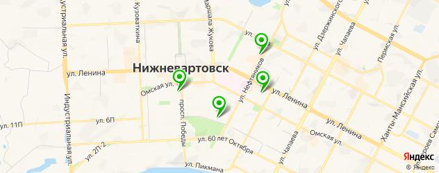 академии на карте Нижневартовска