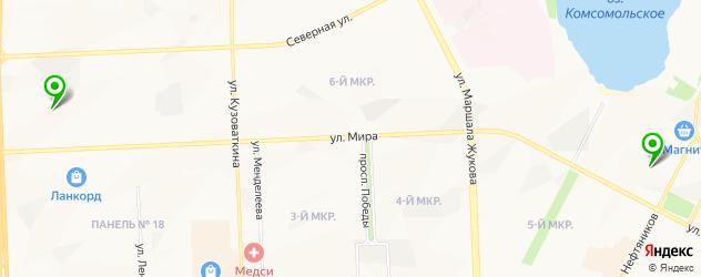 культурные центры на карте Нижневартовска