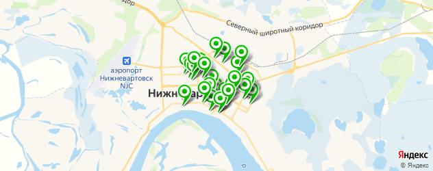 центры косметологии на карте Нижневартовска