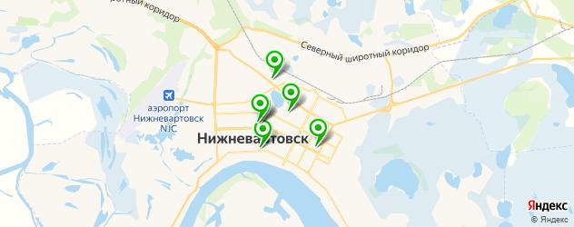художественные школы на карте Нижневартовска