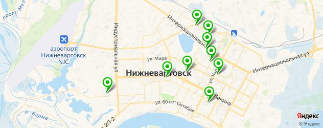 изготовления ключей на карте Нижневартовска