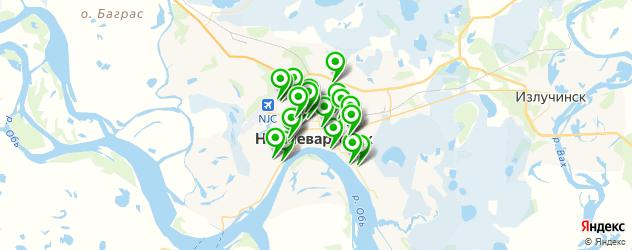 караоке на карте Нижневартовска