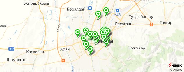 меховые ателье на карте Алматы