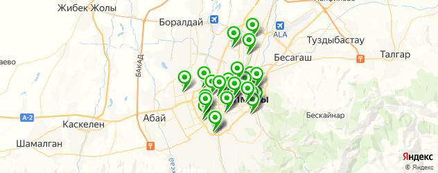 швейные мастерские на карте Алматы