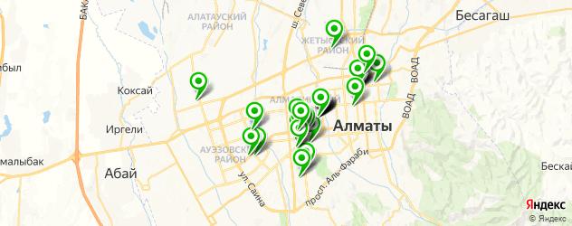 сервисные центры на карте Алматы