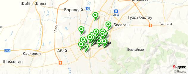 тату салон на карте Алматы