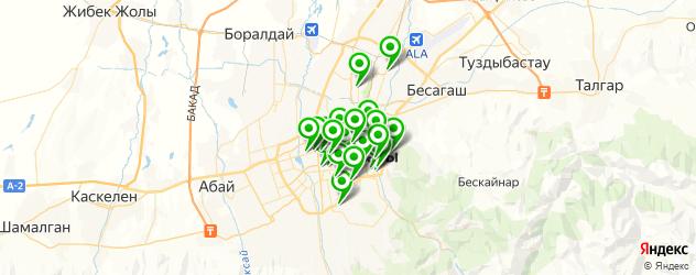караоке на карте Алматы