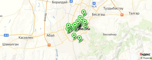 компьютерные помощи на карте Алматы