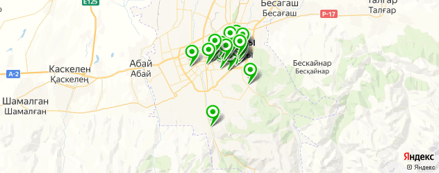центры косметологии на карте Алматы