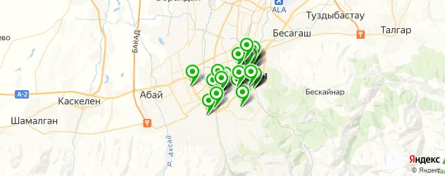 Здоровье на карте Алматы