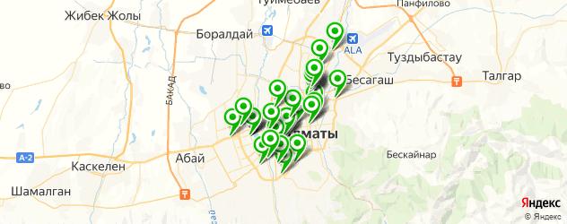 магазины автоаксессуаров на карте Алматы