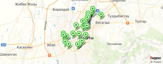 автосалоны на карте Алматы