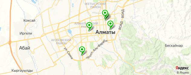 пивные рестораны на карте Алматы