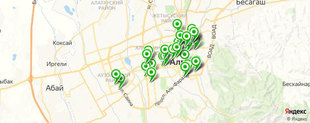 кадровые агентства на карте Алматы