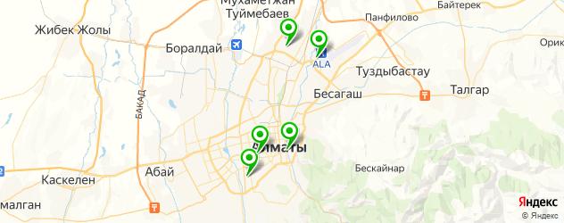 студии аэрографии на карте Алматы