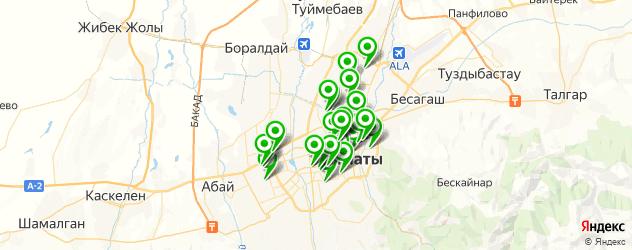 типографии на карте Алматы