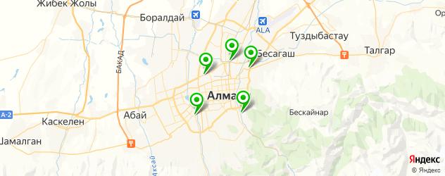 сервисы SsangYong на карте Алматы