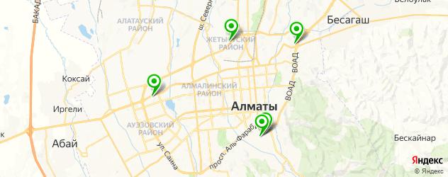 замена поршневых колец на карте Алматы