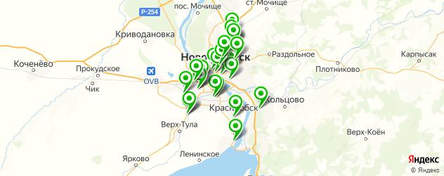 запчасти на сельхозтехнику на карте Новосибирска