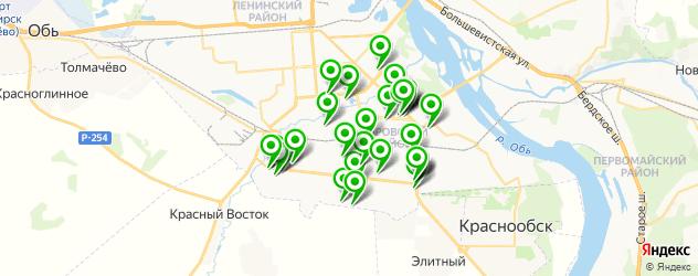 автосервисы на карте Кировского района