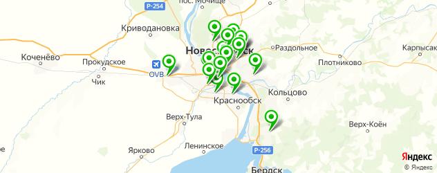 ремонт шаровых на карте Новосибирска
