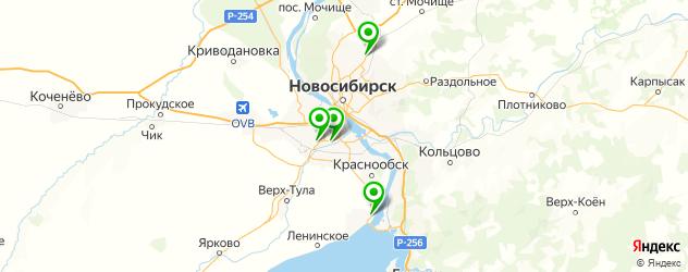 официальные дилеры Хендай на карте Новосибирска