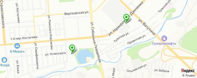 сервисы Ситроен на карте метро Площадь Маркса