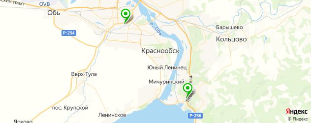 Удаление катализатора Mercury на карте Новосибирска