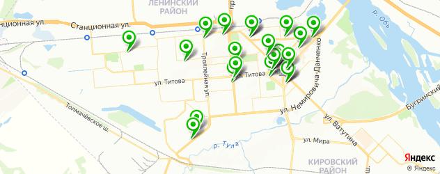 салоны оптики с проверкой зрения на карте Ленинского района