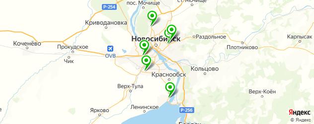 б/у диски на карте Новосибирска