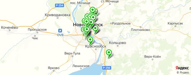 психотерапия на карте Новосибирска