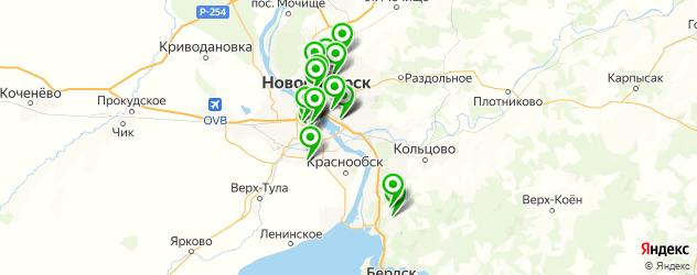 психиатрия на карте Новосибирска