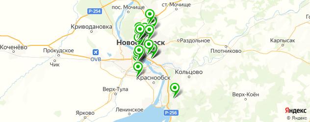 наркологическое отделение на карте Новосибирска