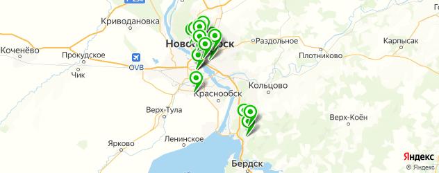 торты на заказ на карте Новосибирска