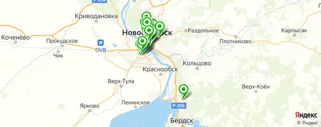 квесты на карте Новосибирска