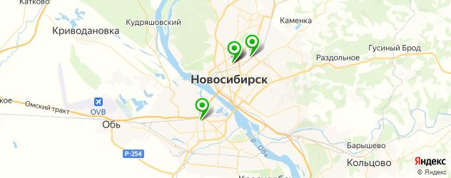 покраска авто раптором на карте Новосибирска