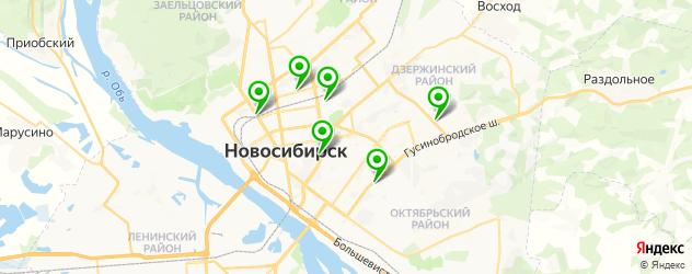 тюнинг фар на карте Новосибирска