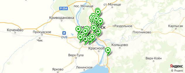 тюнинг выхлопной системы на карте Новосибирска