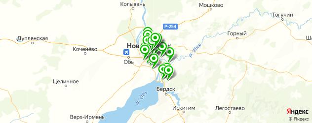 замена акпп на карте Новосибирска