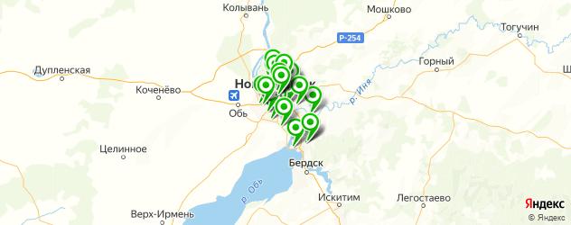 замена выхлопной системы на карте Новосибирска