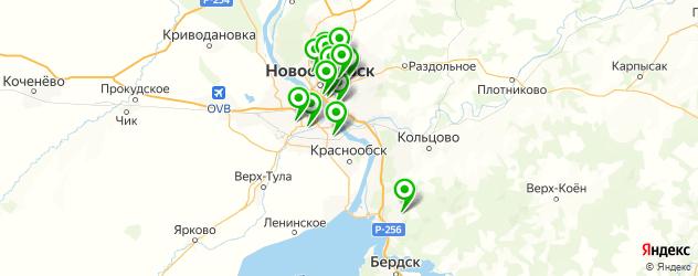 Тюнинг Форд на карте Новосибирска