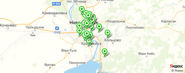 аппаратная замена масла акпп на карте Новосибирска