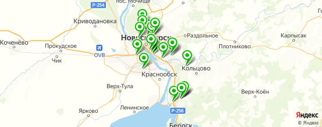 ремонт гибридных автомобилей на карте Новосибирска