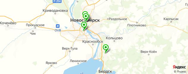 нейрохирургия на карте Новосибирска