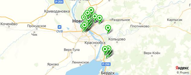 кардиология на карте Новосибирска