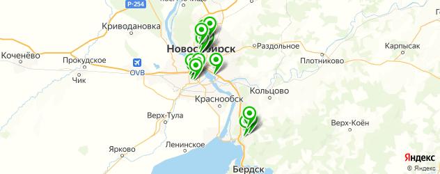 ревматология на карте Новосибирска