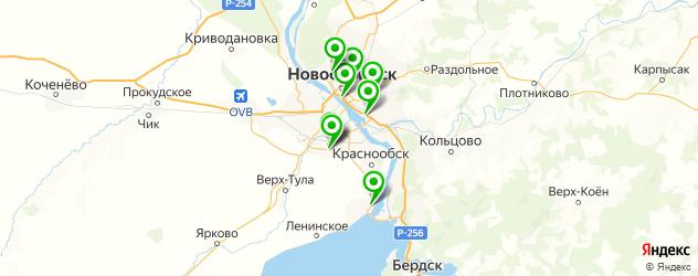 запчасти для японских грузовиков на карте Новосибирска