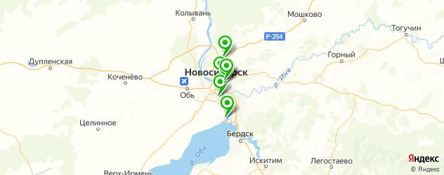 запчасти для корейских грузовиков на карте Новосибирска